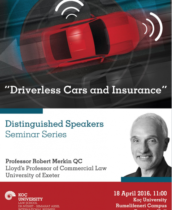 Driverless Cars and Insurance