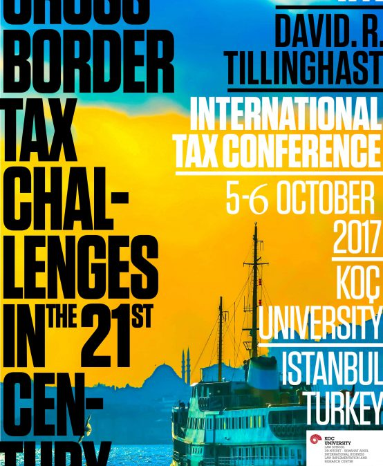 IFA David R. Tillinghast International Tax Conference (5-6 October 2017)